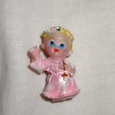 Figurina din plastic, ingeras, inaltime 4 cm