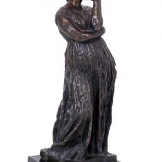 PENELOPE - STATUETA DIN BRONZ PE SOCLU DIN MARMURA - sculptura reproducere, Portrete