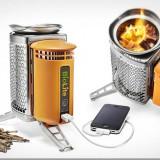 Butelia BioLite CampStove, (minisoba) pe lemne pentru camping, PRODUCE curent electric!!!, Butelie