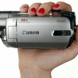 Camera CANON FS100 - Camera Video Canon, Card Memorie, CCD, Peste 40x