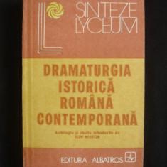 ION NISTOR - DRAMATURGIA ISTORICA ROMANA CONTEMPORANA