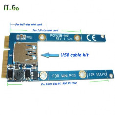 Adaptor mini PCIe la USB
