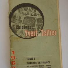 Catalog de timbre postale - YVERT & TELLIER