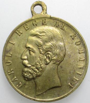 [ - H - ] Medalie 10 Maiu 1881 Regele Carol I Proclamarea Regatului foto