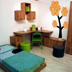 Autocolant - sticker decorativ de perete - Copac camera copii