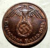 D.091 GERMANIA AL III-LEA REICH 1 REICHSPFENNIG 1938 A XF, Europa, Bronz