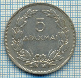 353 MONEDA  VECHE - GRECIA - 5 DRAHME(DRACHMAI) - anul 1930 -starea care se vede