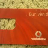 Cartela telefonica sim Vodafone Bun venit!, fara sim, 1 ron - Cartela telefonica romaneasca