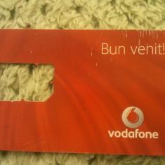Cartela telefonica sim Vodafone Bun venit!, fara sim, 1 ron