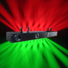 SUPER SCANNER LUMINI LED CU 4 CAPETE,QUATTRO LED LIGHT. NOU 2013,LUMINI DISCO PE LEDURI.
