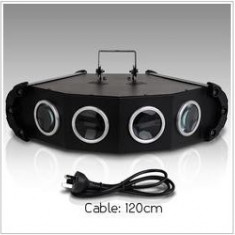 SUPER LUMINA DISCO PE LED ,NOU 2013. STAR LED LIGHT CU 4 CAPETE,LED+DMX 512.