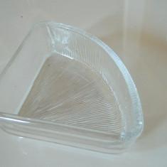 Bomboniera cristal, sticla, ideala depozitare lucruri marunte, vintage, eleganta