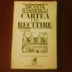 Nichita Stanescu Cartea de recitire - Carte de lux