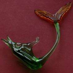 Peste deosebit din sticla colorata lucrat manual - Arta din Sticla