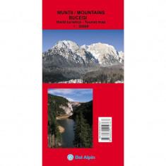 Bel Alpin Harta Muntii Bucegi editia 2-a - Harta Turistica