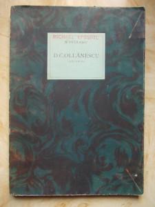 N.PETRASCU -DIMITRIE C.OLLANESCU (ASCANIO) - BUCURESTI - 1926