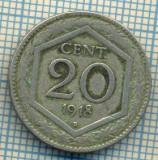 384 MONEDA VECHE - ITALIA - 20 CENTESIMI - anul 1918 -starea care se vede