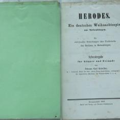 Carl Schuller , Irozii ; Un joc german de Crăciun din Ardeal , Sibiu , 1859