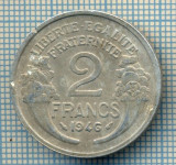 399 MONEDA VECHE - FRANTA - 2 FRANCS -anul 1946 -starea care se vede