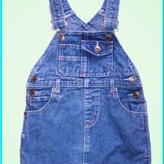 DE FIRMA _ Sarafan blugi fetite, bretele reglabile, H&M _ fete | 18 - 24 luni - Sarafan copii