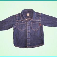 DE FIRMA → Camasa de blugi, denim subtire, H&M → baieti | 9—12 luni | 74—80 cm, Alta, Bleumarin