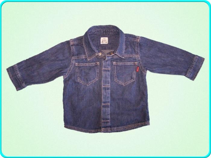 DE FIRMA → Camasa de blugi, denim subtire, H&M → baieti | 9—12 luni | 74—80 cm