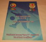 Program meci fotbal Romania - Tara Galilor under 21 (Iasi 2008)
