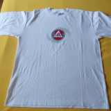 Tricou ADIDAS original din bumbac 100% / Tricou ADIDAS marimea L/XL / ADIDAS mar. XL - Tricou barbati, Marime: L, Culoare: Alb, Maneca scurta
