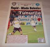 Program Rapid Bucuresti - Mlada Boleslav (2006)