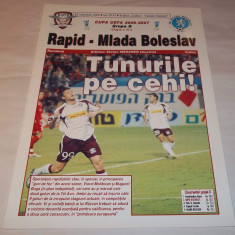 Program Rapid Bucuresti - Mlada Boleslav (2006) - Program meci