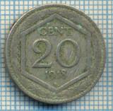 410 MONEDA VECHE - ITALIA - 20 CENTESIMI -anul 1918 -starea care se vede