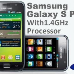 Vand sau schimb Samsung galaxy s plus cu iphone 4, 8GB, Neblocat, 4''