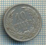 411 MONEDA VECHE - UNGARIA - 10 FILLER -anul 1894 -starea care se vede