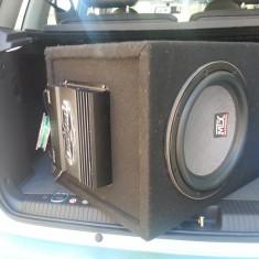 Subwoofer MTX + statie MTX + condensator - Subwoofer auto