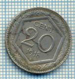 409 MONEDA VECHE - ITALIA - 20 CENTESIMI -anul 1918 -starea care se vede