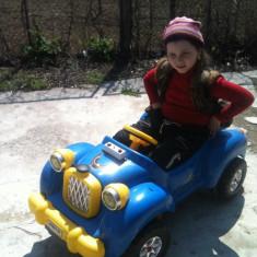 Masina cu pedale Pilsan model Antique, 4-6 ani, Unisex, Bleu