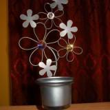Suport lumanare floricele - suport lumanari