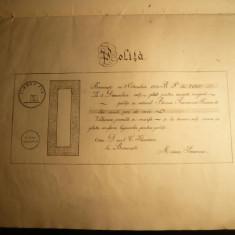 Caiet cu Formulare - Specimen pt. Functionari - cca.1914, Romania 1900 - 1950