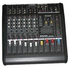 Vand mixer audio cu amplificator pmq2108 2x240w azusa mik0042