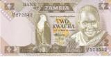 Bancnota Zambia 2 Kwacha (1988) - P24c UNC