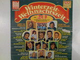 Disc vinil vinyl pick-up Karussell WINTERZEIT WEIHNACHTSZEIT Die 20 Schonsten Lieder Zur 2415 139 LP GOLD SERIE Germany rar vechi colectie MAX