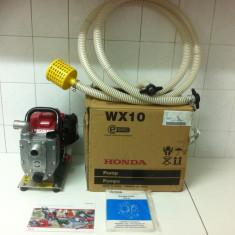 Pompa de Apa, Marca,, HONDA WX10 '' este noua din 2011 - Pompa gradina Honda, Motopompe