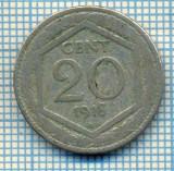 414 MONEDA VECHE - ITALIA - 20 CENTESIMI -anul 1918 -starea care se vede