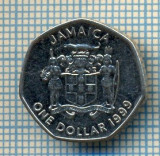 412 MONEDA  - JAMAICA  - ONE DOLLAR  -anul 1999  -starea care se vede