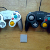 Vand 2 manete GAMECUBE + memory card Game Cube
