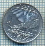 493 MONEDA - ITALIA - 50 CENTESIMI -anul 1940 - magnetica -starea care se vede