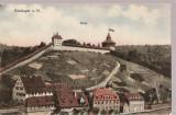 CPI (B2503) GERMANIA, ESSLINGEN BURG, CIRCULATA 24.V.1911, STAMPILA, TIMBRU, Europa, Fotografie