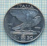 491 MONEDA - ITALIA - 50 CENTESIMI -anul 1941- magnetica -starea care se vede
