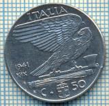 490 MONEDA - ITALIA - 50 CENTESIMI -anul 1941- magnetica -starea care se vede