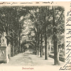 CPI (B2484) RHEINANLAGEN, COBLENZ, EDITURA STENGEL&Co. DRESDEN - BERLIN. 1804, CIRCULATA, STAMPILA, Europa, Printata